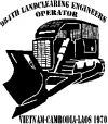 Large Rome Plow 984th LandClearing Engineers Special Orders car-window-decals-stickers
