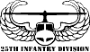 25th Infantry Division Special Orders car-window-decals-stickers