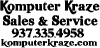 Komputer Kraze Sales And Service Special Orders Car Truck Window Wall Laptop Decal Sticker
