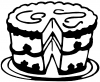 Cake Business Car Truck Window Wall Laptop Decal Sticker