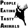 PETA Hunting And Fishing car-window-decals-stickers